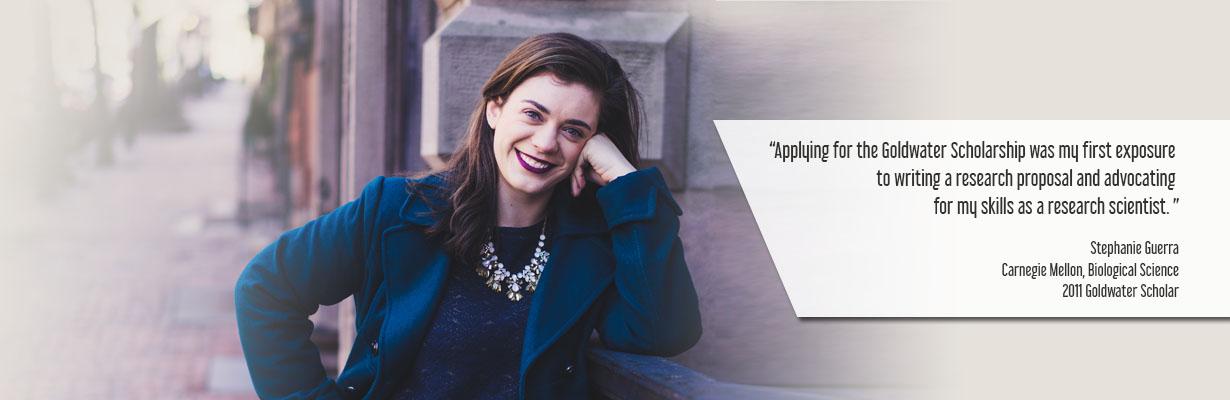 Stephanie Guerra, 2011 Goldwater Scholar